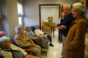 Visita de P.Pereira y esposa a O Lecer